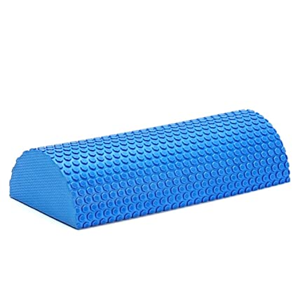 Amazon.com : DANLA Half Round Foam Roller for Muscle Massage ...