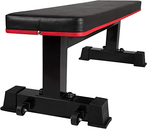 Ollieroo Utility Home Workout Flat Weight Bench