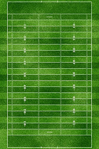 ArtEdge Football Field Gridiron Sports Poster Print, 18