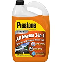 $36 » Prestone AS658 Deluxe 3-in-1 Windshield Washer Fluid, 1 Gallon, 2 pack