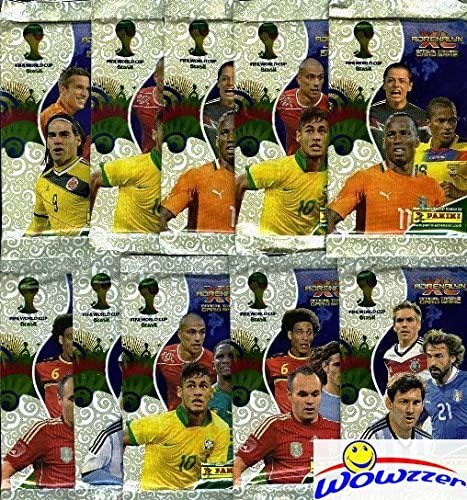 Panini coupe du monde 2014 BRASIL 14-10 NEUF dans sa boîte sachets vert TOP//RARE