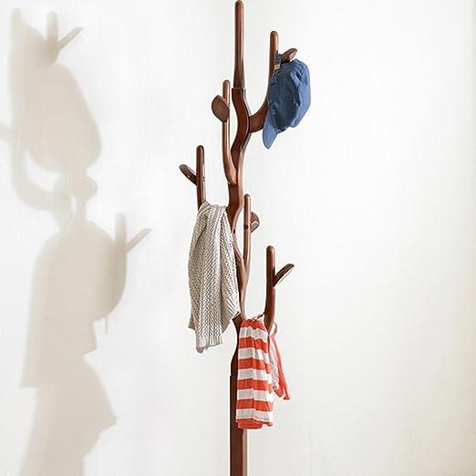 Zhang - Perchero de pie para Sombreros y Abrigos (Madera ...