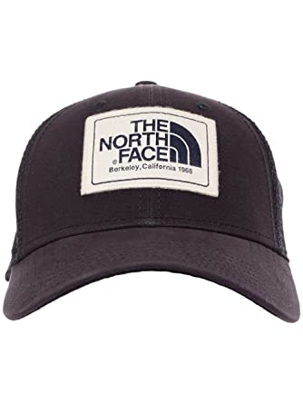 Amazon.com  The North Face Men s Mudder Trucker Hat w  Logo Patch TNF Black Berkeley 9cdde05a5e10