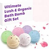 Lush Essential Oil & Dry Flowers Bath Bombs Gift