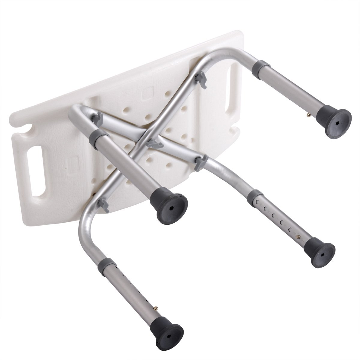 Tobbi Medical Tool-Free Assembly Adjustable Shower Stool Tub Chair W/Anti-Slip Rubber Tips by Tobbi (Image #5)