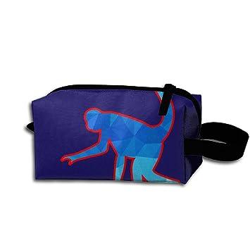 f1efc59534ad Amazon.com: Walk Upright Monkey Storage Bag Portable Travel Makeup ...