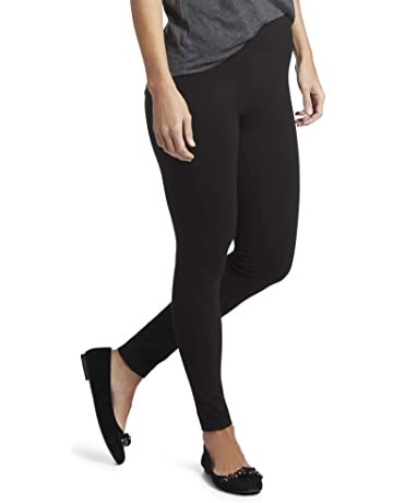 cf4dd3fcf824b HUE Women's Cotton Ultra Legging with Wide Waistband