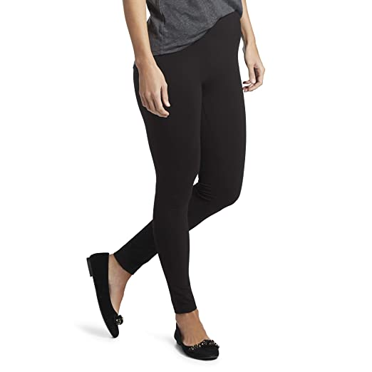 Hue Women S Cotton Ultra Legging With Wide Waistband At Amazon