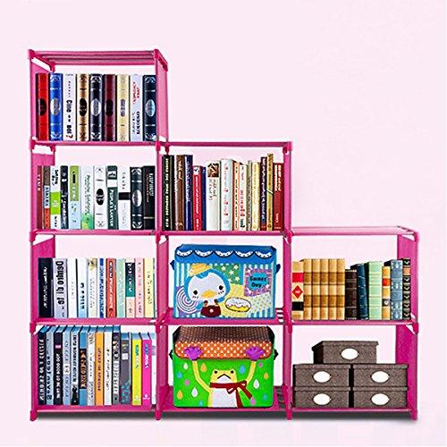 Glass Mahogany Bookcase - 5