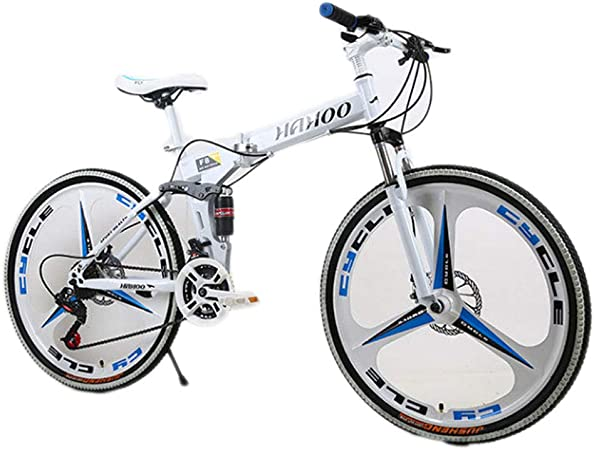 HAOHAOWU Bicicleta Plegable, Bicicleta De Carretera De 21 ...