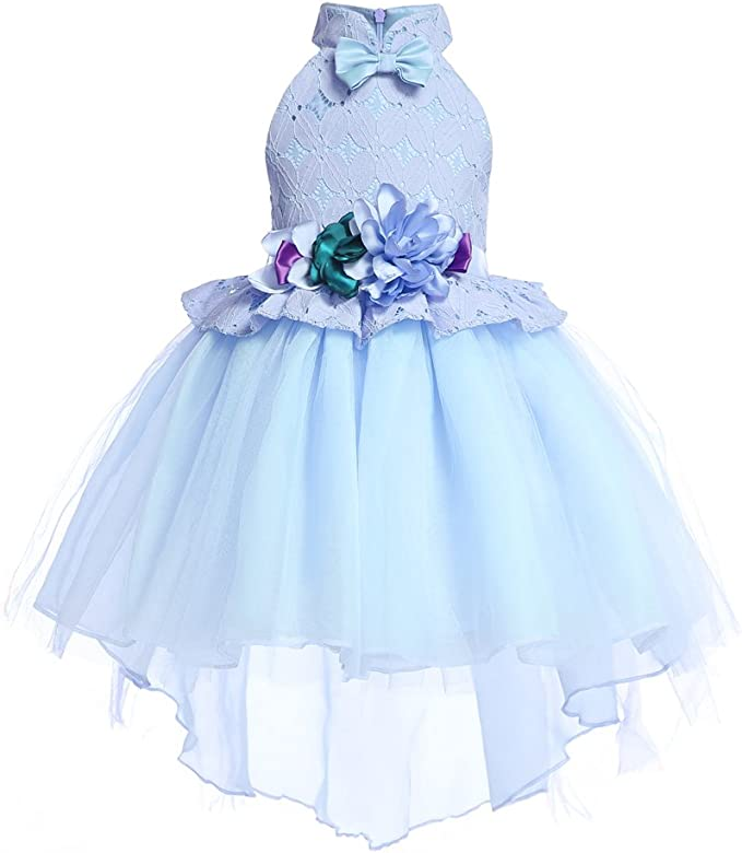 Amazon.com: AIMJCHLD 2-10T - Vestido de fiesta para niña ...