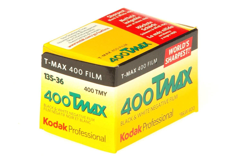 Kodak 400 TMAX Professional ISO 400, 36mm, 36 Exposures, Black and White Film 3-Pack by KODAK