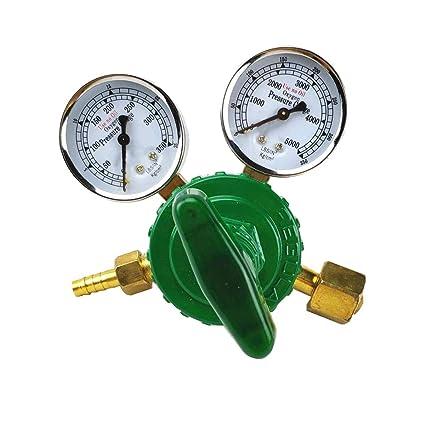 Regulador de oxígeno 0-350 kg/cm2 (0-35 MPa 0-