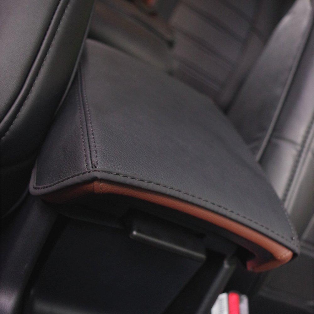 Nero BeHave fsx3853w Protezione Della Cassa Del Bracciolo DellAuto,Tappetino Per Auto Con Braccioli,Accessori Interni Automobilistici Console Centrale Bracciolo