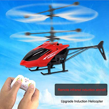 Vibgyor Vibes Mini Drone Remote Control Induction Flying Helicopter (Multicolor)