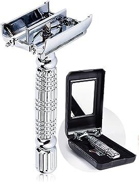 Baili lujo clásico hombres de doble filo de maquinilla de afeitar ...