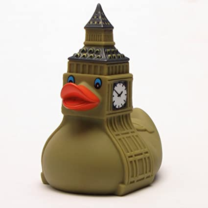 Amazon.com: Big Ben - Rubber Duck: Toys & Games