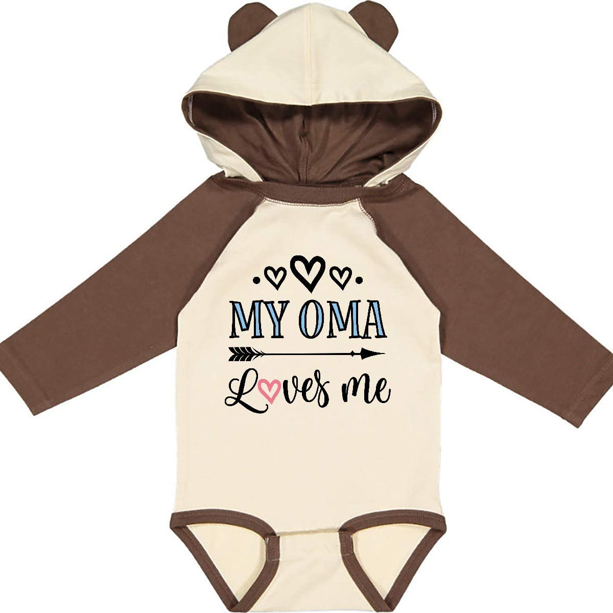 inktastic My First Valentines Day Baby Sloth Long Sleeve Creeper