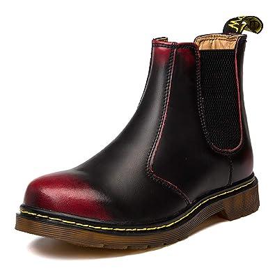 e38668768b6217 Orktree Unisex-Erwachsene Chelsea Boots Damen Stiefel Derby Wasserdicht  Kurz Stiefeletten Schuhe Herren Worker Boots