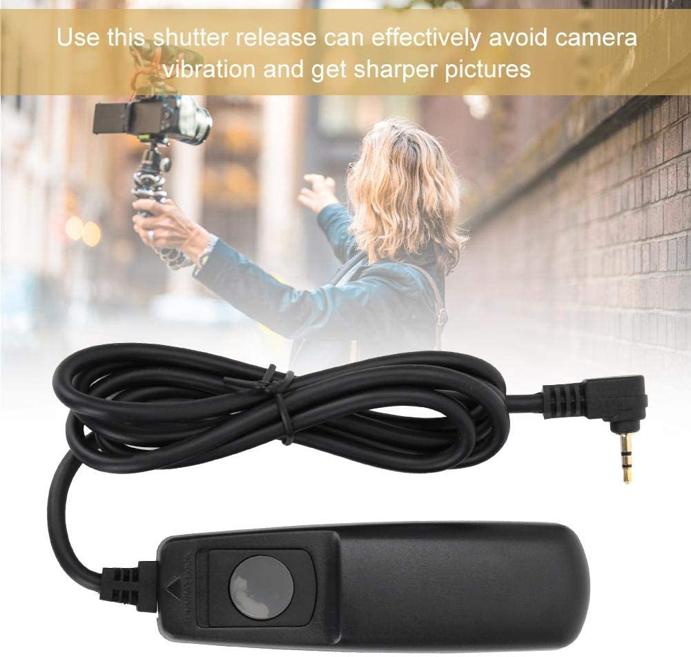 Acouto 2.5-DC2//N3 Camera Remote Shutter Release Cable for Nikon