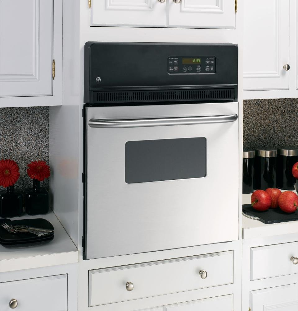 "General Electric 24"""" Electric Single Self-cleaning Wall Oven"