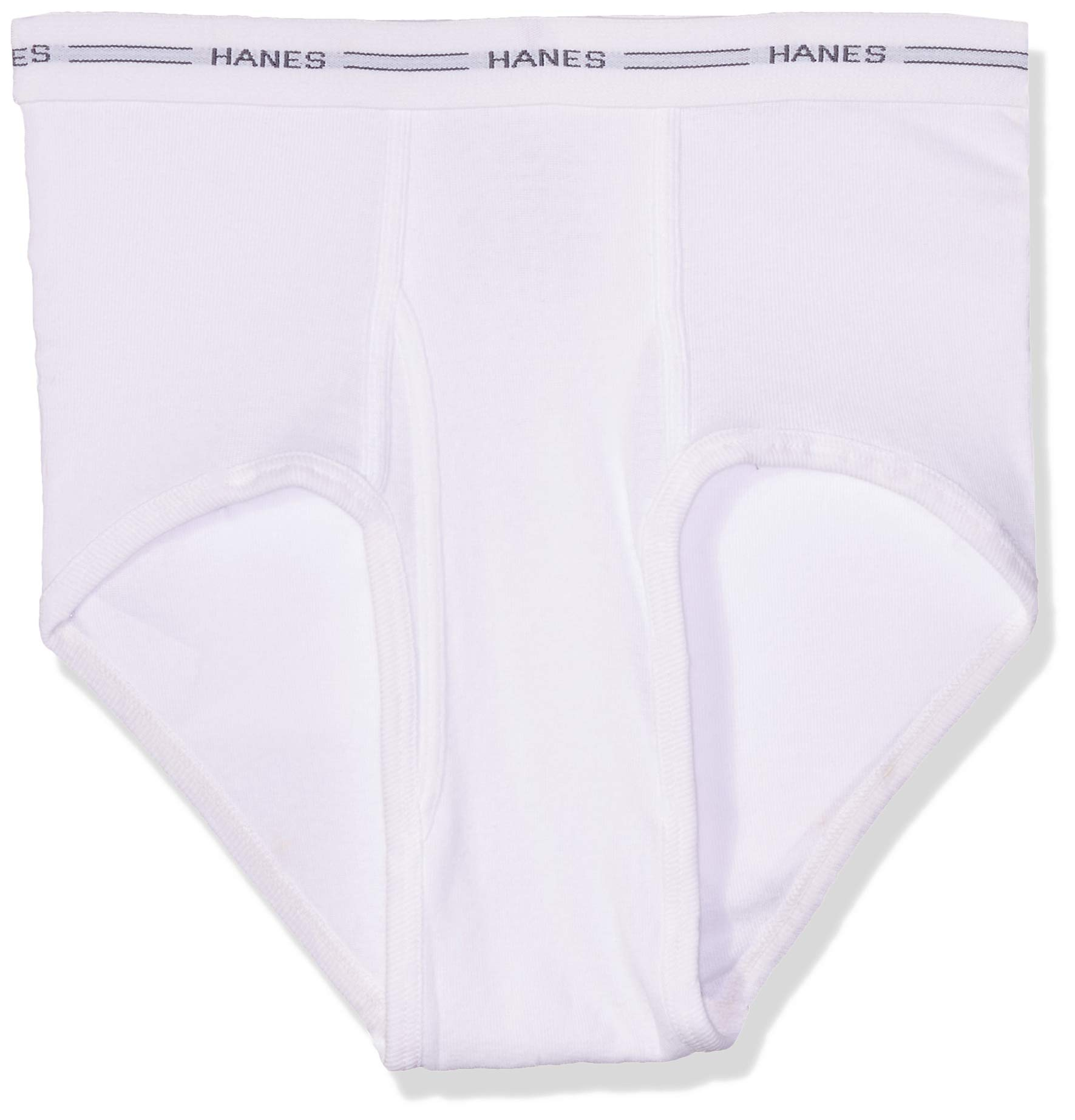 Hanes Men's 7-Pack FreshIQ Brief, White, X-Large