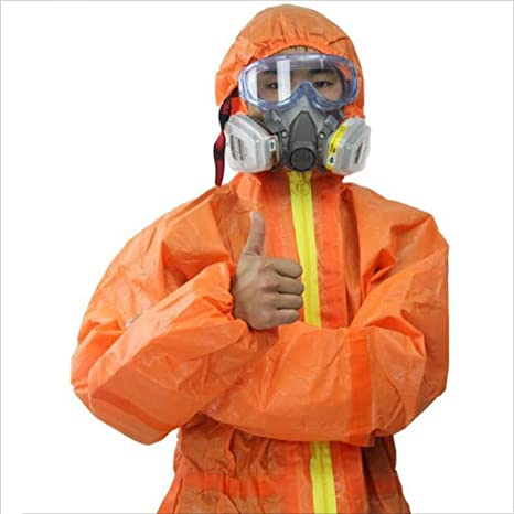 CYHX Protección de Seguridad General Trabajo Siamés Ropa de ...