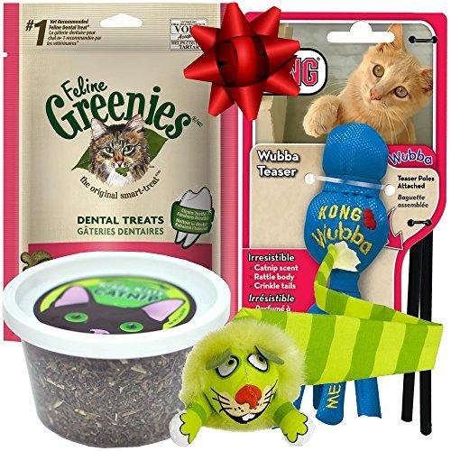 Cat Treats Gift Set (Wubba Bunny)