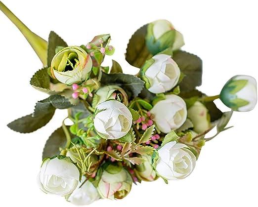 Zhaoyun - Arco de Rosas Artificiales para decoración de jardín, Boda, hogar, Fiesta, etc.: Amazon.es: Hogar