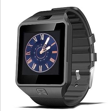 Reloj inteligente QIMAOO DZ09 Smart Watch Bluetooth 3.0 Fitness Tracker con ranura para SIM, reloj deportivo con Podómetro, Sueño, Calorías Samsung ...