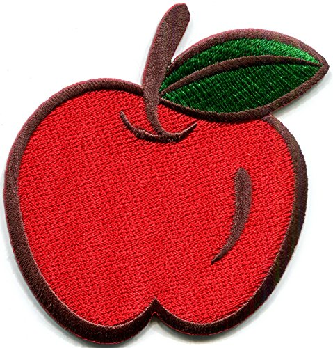 apple hippie embroidered applique S 1242 product image
