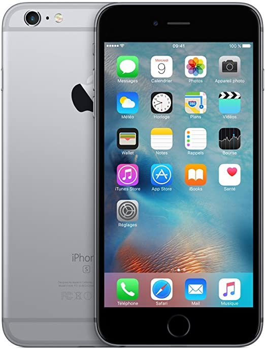 Apple iPhone 6s Plus 128GB Gris Espacial (Reacondicionado): Amazon ...