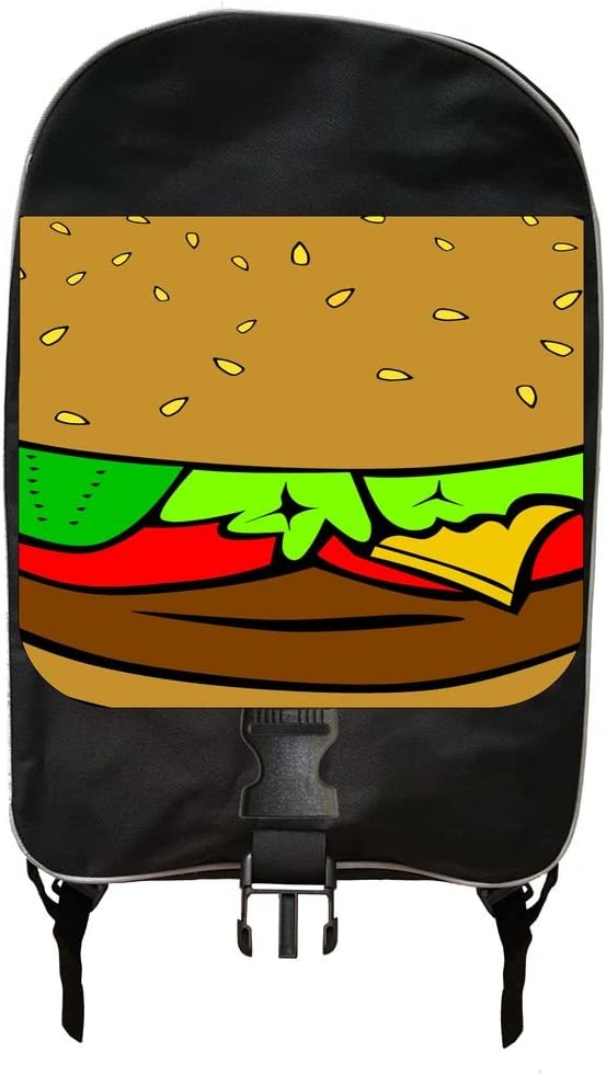 Cheesburger Backpack and Pencil Case Set