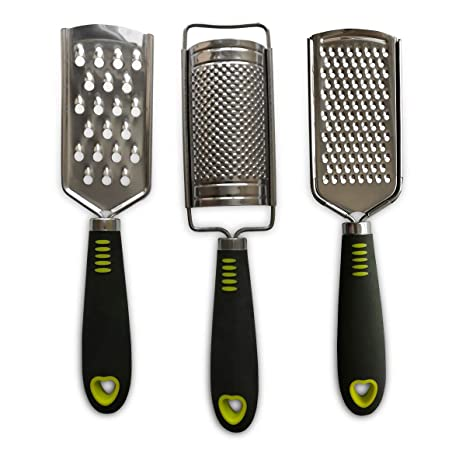 Amazon.com: Rallador de queso, rallador de mano de acero ...