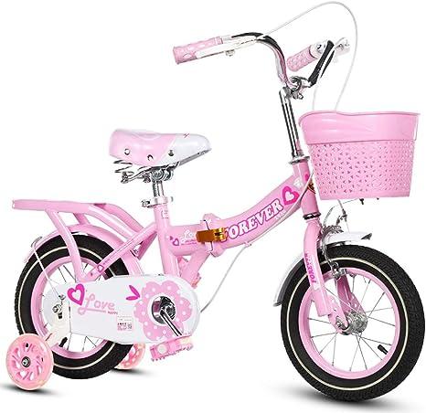 Xiaoping Bicicleta para niños Bicicleta para niña Plegable ...