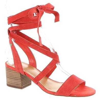 Tommy Hilfiger Zim Women's Sandal 7 B(M) US Orange