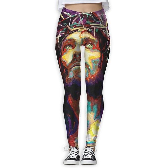 5f9f4a8f1d97d Amazon.com: Fri Mysterious Man Print Compression Pants/Yoga Pants Athletic  Leggings Women Ladies Reflective: Clothing