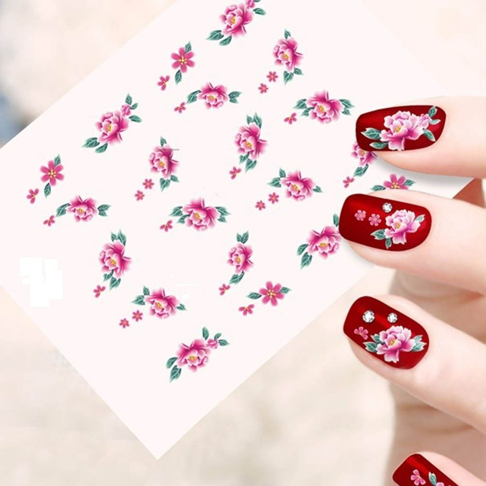 Buy looks united self adhesive nail art sticker pack of 10 buy looks united self adhesive nail art sticker pack of 10 online at low prices in india amazon prinsesfo Choice Image