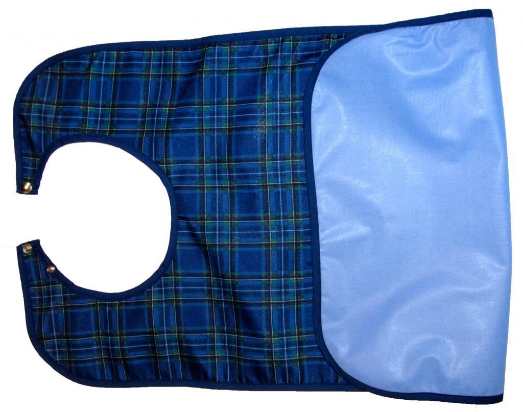 Atlas Bulk Pack Comfortable & Adjustable Bib Apron Waterproof Professional Grade 6-Piece, 300+ wash, Made in Canada