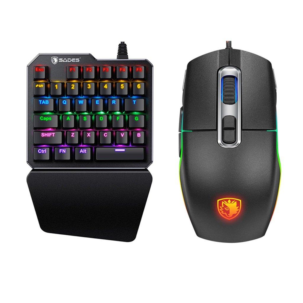 ゲーミングキーボード、RGB LEDリムーバブルハンドグリップ、PCゲーマー B07FSB3G93&タイピング用 (Color : (Color Mixed color-green axis) axis) B07FSB3G93, サンボンギチョウ:3fbef396 --- elmont.su