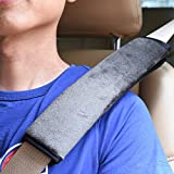 BCP Pack of 2pcs 10 1/2 Inches Velvet Car Safety