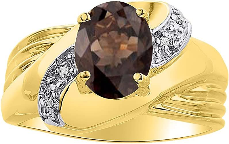 Textured 14K Gold Ring 5x3 mm Pear Cut Smokey Quartz Ring 14K Gold  Natural Smoky Quartz Textured Ring Rose Gold Plated Ring Silver