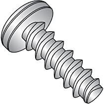 Phillips Drive Passivated Finish #6-19 Thread Size Small Parts 0608LPP188 1//2 Length Pack of 50 18-8 Stainless Steel Thread Rolling Screw for Plastic 1//2 Length Pack of 50 Pan Head