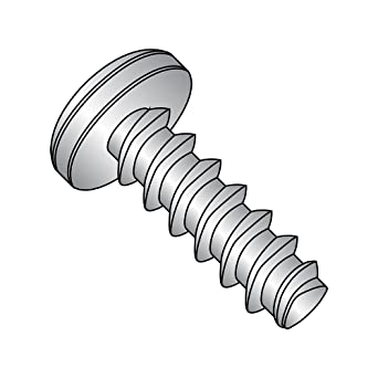 1 in 18-8 Stainless Steel Captive Panel Screw Compatible 4-40 Thread Size and Knurled Head Type,20400008212