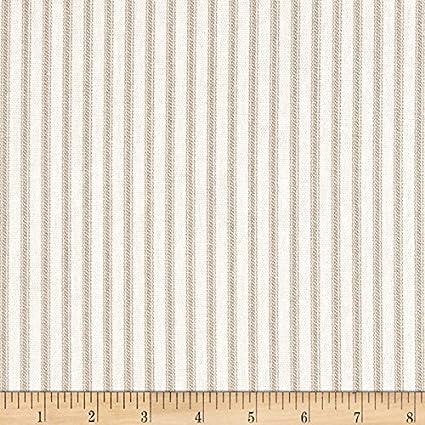 Amazoncom Magnolia Home Fashions 0421906 Berling Ticking Stripe