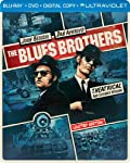 Cover Image for 'The Blues Brothers (Steelbook) (Blu-ray + DVD + DIGITAL with UltraViolet)'