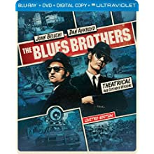 The Blues Brothers (Steelbook) (Blu-ray + DVD + DIGITAL with UltraViolet) (1980)