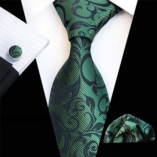 Moda Corbatas Formal Clásica para Hombre, Jacquard tejido corbata ...