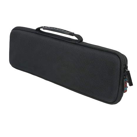 Para Akai Pro LPK25 - Teclado controlador USB MIDI de 25 EVA Duro Viaje Estuche Bolso