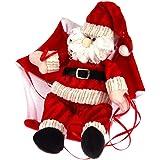Pairkal Paracadute Pupazzo di Neve Babbo Natale Ciondolo Appeso Forniture di Decorazione Natalizia Ciondoli e Pendenti